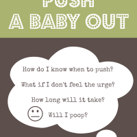 How To Push A Baby Out