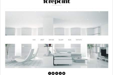 interior design website template 473877