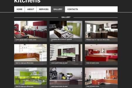 interior design website template 496108