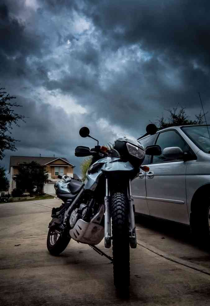 Stormy Day for a Ride