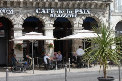 A Cafe in France is something to look forward too