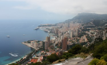 Leaving Monaco behind - Wow, what a place
