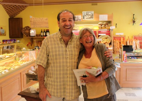 The Patisserie owner and Val from Wigan!