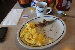 It was an iHop breakfast - Only go if you want sh*t food