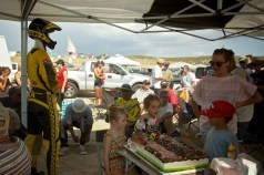 A monster Motocross Birthday cake!