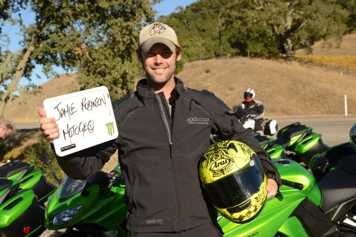 Jamie Robinson @ MotoGeo - 2014 Kawasaki Ninja 1000 First Ride