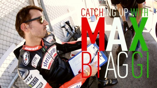Catching up with Max Biaggi