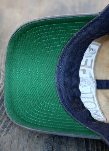 Baseball Cap Navy Inside.