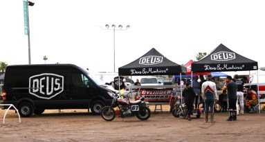 A great set-up by the stylish Deus crew.
