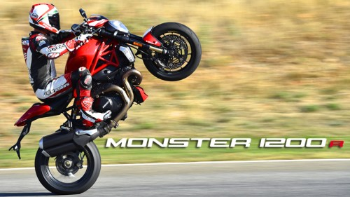 Monster 1200R 1st Ride!