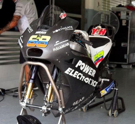 Yonny Hernandez Ducati