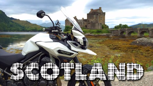 Scotland Adventure / Triumph Tiger Explorer XR