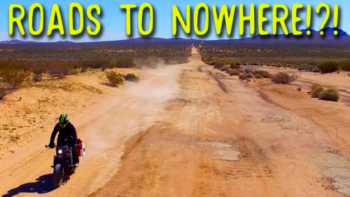Roads to nowhere!?!