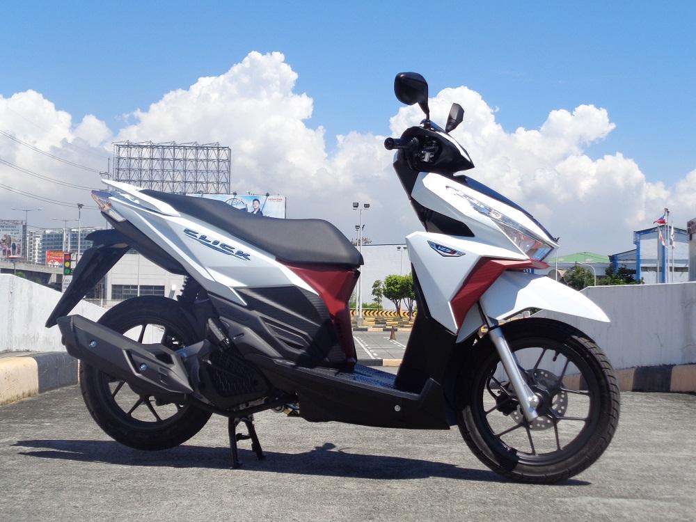 The Honda Click 125i gets a facelift