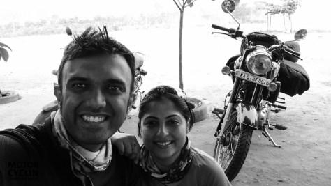 Bangalore Hampi motorcycle tour on Enfield