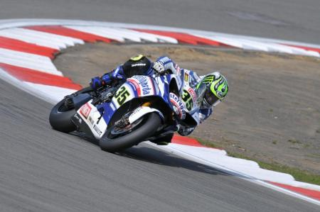 Cal Crutchlow is following Ben Spies' steps as an up-and-coming rider from the Yamaha Sterilgarda WSBK team getting the nod for the Tech 3 Yamaha MotoGP seat.