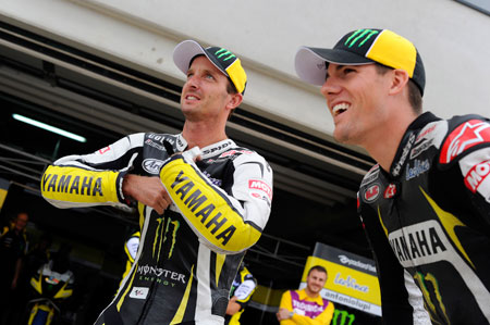 Colin Edwards is coming off his season-best result while Ben Spies makes his first Malaysian Grand Prix.