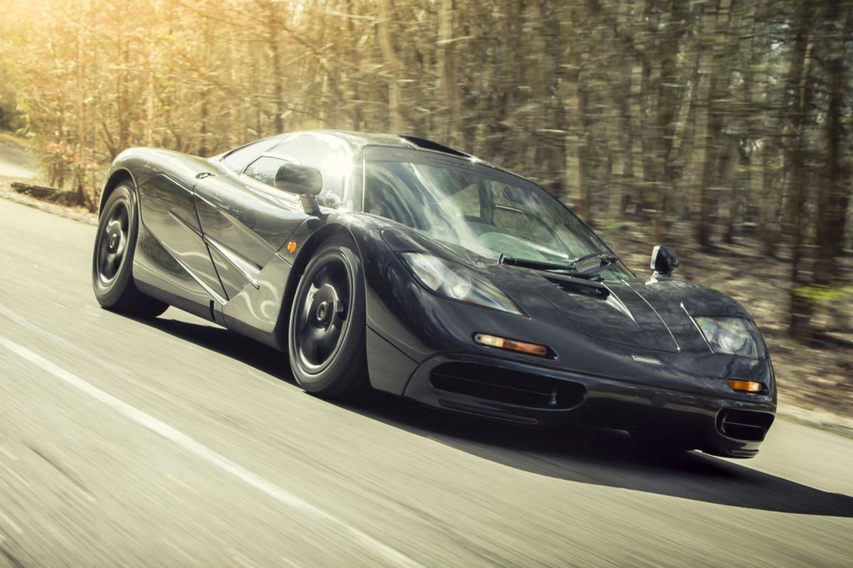 Dream ticket: nearly-new McLaren F1 tops our lottery list