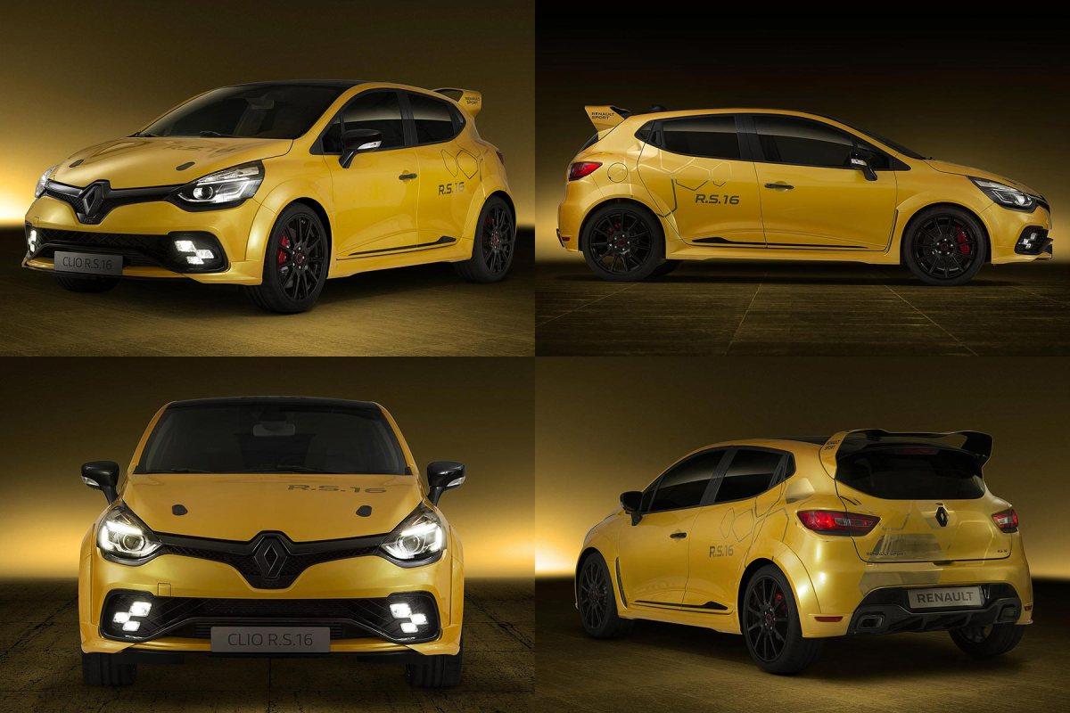 Skunkworks 275hp Renault Clio R.S.16 wows Monaco Grand Prix