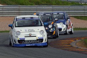 Race1, Alex Campani, Abarth 695, C&C Racing Team