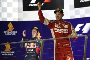 vettel GP SINGAPORE F1/2015