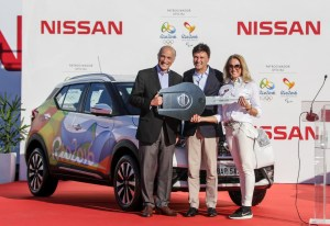 Rio 2016 Organizing Committee receives from Nissan the official