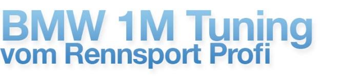 BMW 1M Tuning Shop Banner