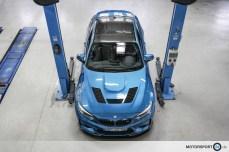 BMW M2 F87 Clubsport Motorhaube GTR Dach Lippe