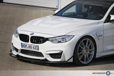 BMW M4 Tuning GTR Motorhaube Carbon