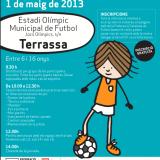 Jornada de futbol femení a Terrassa