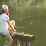 la jeune fille et les carpes coï