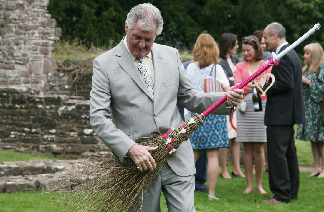 jumping the broom wedding brooms At Mountain Celebrations all our brooms are bespoke to the individual couple and brooms can be ordered upon request