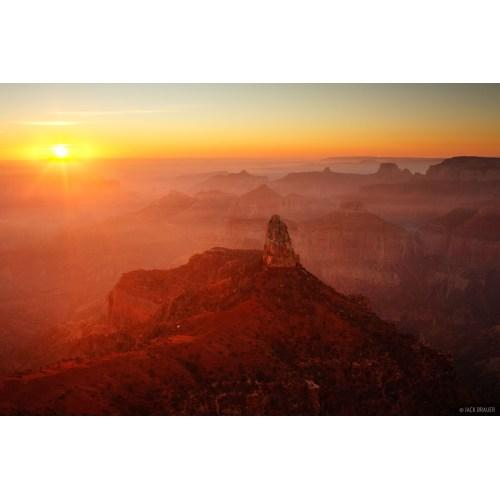 Medium Crop Of Sunrise Grand Canyon