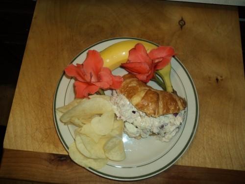 Apple Chicken Salad Sandwiches