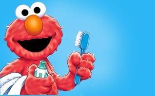 Elmo's brushy brush song.