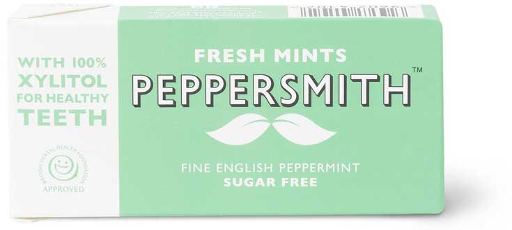 Peppersmith Fine English Xylitol Mints