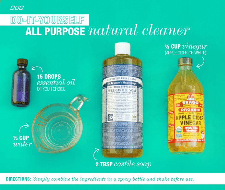 6 All Natural Household Dyi Cleaners Lpn S Post On Move