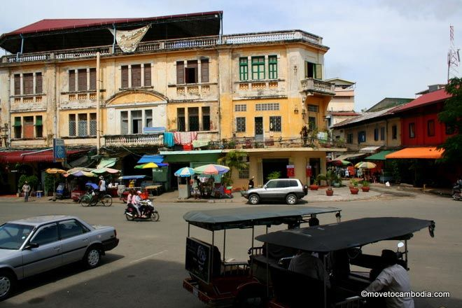 Across from the main post office, Phnom Penh