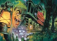 Graham Humphrey's stunning artwork for Horror Channel FrightFest 2016