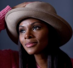 """PARK CITY, UT - JANUARY 25:  Actress Tika Sumpter from the film """"Southside with You"""" poses for a portrait during the WireImage Portrait Studio hosted by Eddie Bauer at Village at The Lift on January 25, 2016 in Park City, Utah.  (Photo by Jeff Vespa/WireImage)"""