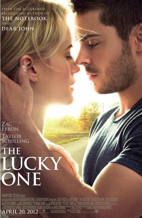 The Lucky One Movie Poster And Trailer 2012