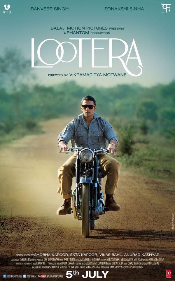 Lootera - Ranveer Singh as Varun