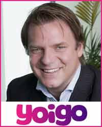 Johan Andsjö, CEO de Yoigo
