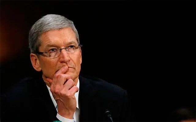 Tim Cook es el consejero delegado de Apple