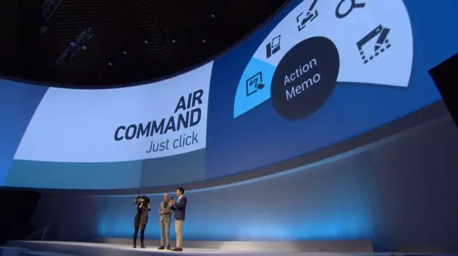 Air comand en Galaxy Note 3