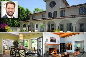 Jason Priestley home Toluca Lake CA