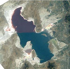 The Salt Lake Located in City 5 Times Saltier Then Sea