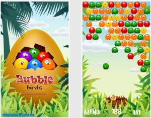 bubble birds hd 300x235 لعبة Bubble Birds 2 لاجهزة نوكيا سمبيان 3 وانا وبيلي