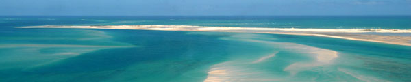 Azure Indian Ocean  between Bazaruti and Benguerra Islands  Mozambique
