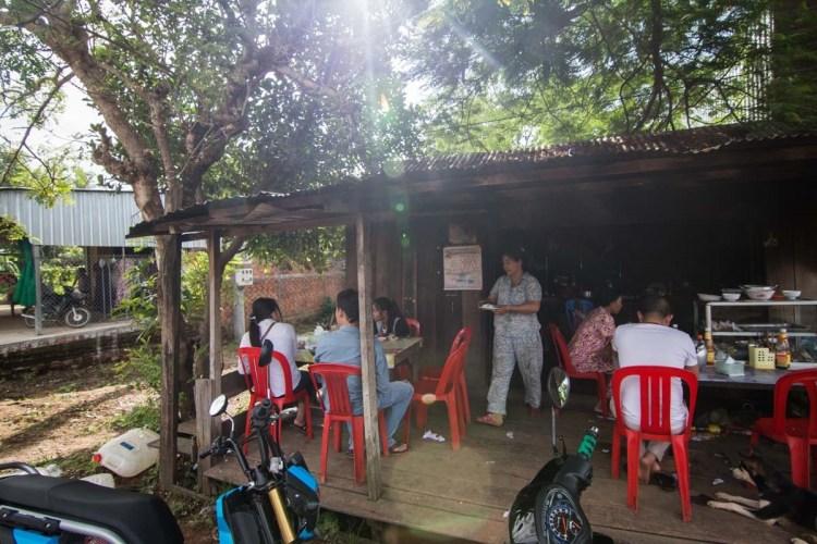 柬埔寨鄉下早餐